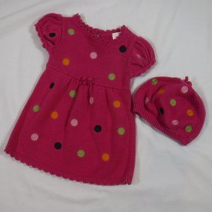 Gymboree Sweater Dress and Hat